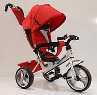 Велосипед трехколесный TILLY Trike T-343 КРАСНЫЙ+БЕЛЫЙ