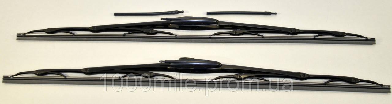 Щётки стеклоочистителя к-кт 2шт 600/600mm с форсункой Renault Master II1998>2010 Renault (Оригинал) 5001865593