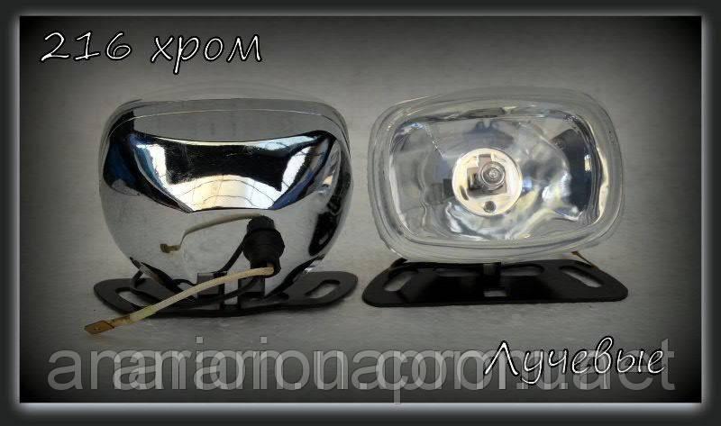 Дополнительные фары на ВАЗ 2105 № 4201 (белое стекло)