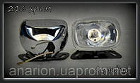 Дополнительные фары на ВАЗ 2105 № 4201 (белое стекло), фото 1