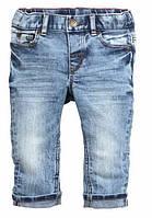 Детские джинсы УНИСЕКС H&M 9-12 мес,12-18 мес,1.5-2 года