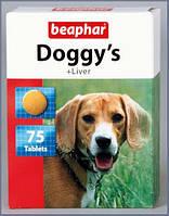 Beaphar Doggy's + Lever витаминизированное лакомство для собак со вкусом печени.
