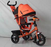 Дитячий триколісний велосипед Crosser One T1 AIR, помаранчевий