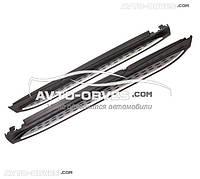 Боковые подножки под оригинал Mercedes GLE Class w166