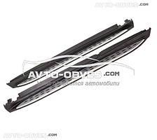 Боковые подножки под оригинал Мерседес GLE Class w166