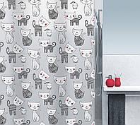 Шторка для ванной виниловая Spirella MIZZY, 180х200