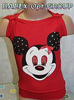 Оптом детская одежда.Футболка на девочку 2,3,4,5 лет 100 % хлопок