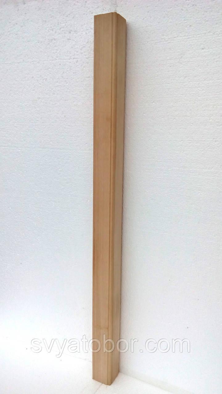Балясина Бук 55х55х900 Сорт А, маленькая прямая без проточки (идеально гладкая и ровная)