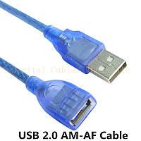 Кабель-удлинитель USB AM-AF 1,5м (пакет)*2277