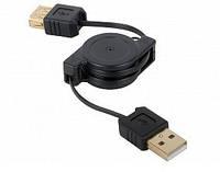 Кабель-удлинитель USB AM-AF 0,8м (Рулетка) *2280