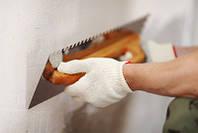 Выравнивание стен с помощью строительных смесей. Шпаклевка стен