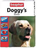 Beaphar Doggy's Senior витаминизированное лакомство для собак старше 7 лет.