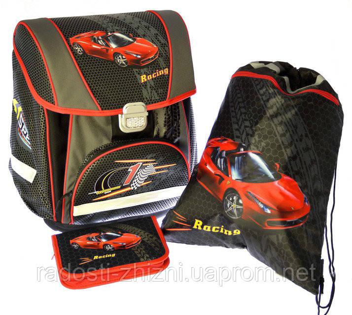 """Набор """"Racing"""" ранец+пенал+сумка для обуви Josef Otten"""