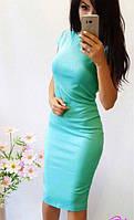 Платье футляр  7 цветов