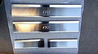 Накладки на пороги Hyundai I10 2008- 4 шт. Standart, фото 1