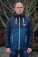 """Куртка-Ветровка """"Napapijri"""" синего цвета.Новая Коллекция!"""