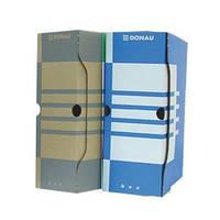 Архивный бокс Бокс для архивации докум., 120мм, 7662301PL Donau (7662301PL-10 (синий) x 28598)