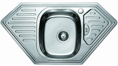 Кухонная мойка угловая Sofia D9550P