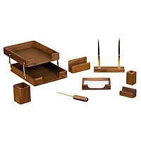 Набор канцелярский Набор настольный деревянный 8 предметов, 8280 Bestar (8280WDN (орех) x 28489)