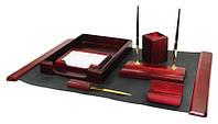 Набор канцелярский Набор настольный деревянный 7предметов, 7159 Bestar (7159XDU (красное дерево) x 28469)