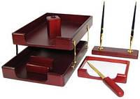 Набор канцелярский Набор настольный деревянный 6 предметов, 6280 Bestar (6280WDM (красное дерево) x 28465)
