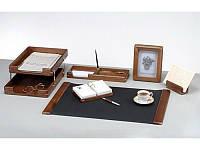 Набор канцелярский Набор настольный деревянный 6 предметов, орех 6213WDN Bestar (6213WDN x 28460)