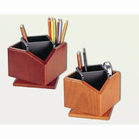 Подставка для ручек Подставка настольная деревянная, оборот 360. 2059 Bestar (2059DDV (темная вишня) x 28527)