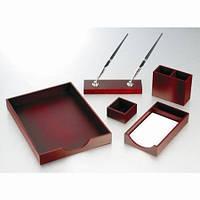 Набор канцелярский Набор настольный деревянный 5 предметов 5144 Bestar (5144FDU (красное дерево) x 28446)