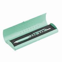 Ручка шариковая 4 в 1 Scotland в подарочном футляре LS.405001 Langres (LS.405001-06 (бирюзовый) x 28378)