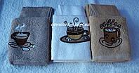 """Набор махровых кухонных полотенец """"Кофе"""" Philihhus, 6 шт."""