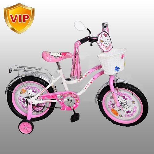 """Велосипед детский 12"""" Хелло Китти."""