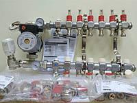 Колектор Kermi 8x2 виходи для водяної теплої підлоги