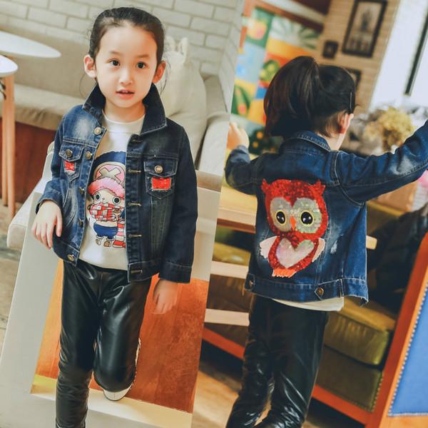 Куртка джинсовая Сова  100