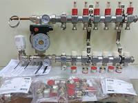 Колектор Kermi 7x2 виходи для водяної теплої підлоги