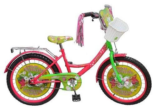 """Велосипед детский 12""""  Мисс Бабочка.Велосипед детский 12""""  Мисс Бабочка (Miss Butterfly)."""