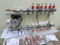 Колектор Kermi 10x2 виходи для водяної теплої підлоги