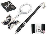 Набор подарочный Butterfly ручка шариковая и брелок LS.122007 Langres (LS.122007-01 (черный) x 28282)