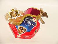 "Красная туфелька с конфетами ""Моцарт"""