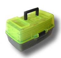 Ящик AQUATECH 1703T (Прозрачный верх) 3-х полочный, фото 1