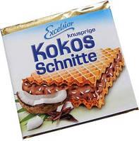 Вафли с шоколадным кремом с кокосом.250гр.Германия