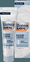 Крем для бритья Balea MEN Rasiercreme Sensitive, 100 ml