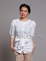 Блуза с рукавом-фонарик, фото 1