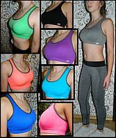 Женский спортивный топ для фитнеса NB, топикик для спорта, топики для бега, одежда для пилатеса