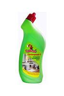 Чистящее средство от налета, ржавчины ПЧЕЛКА з хлором новий Гель санитарный 750г з дез. ефектом (0155100 x 38599)