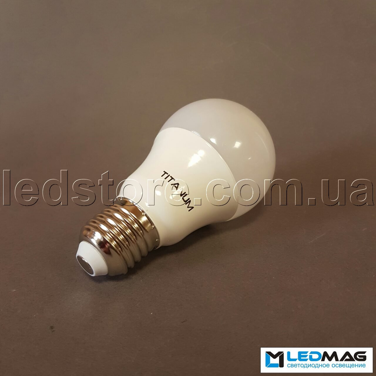 Cветодиодная лампа TITANUM A60 10Вт E27 4100K