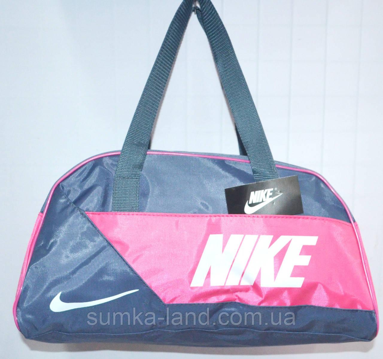 Универсальные спортивные сумки (СЕРЫЙ - с - РОЗОВЫМ)