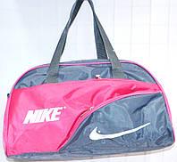 Универсальные спортивные сумки (СЕРЫЙ-С-РОЗОВЫМ)
