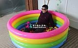 Детский надувной бассейн Intex 56441, диаметр 168см, детские бассейны, надувные игрушки, для детей, Интекс, фото 4