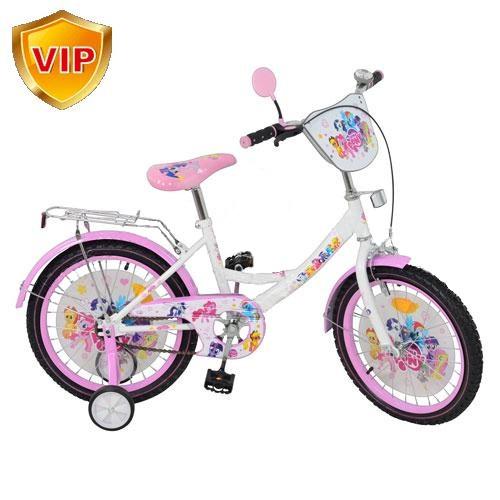"""Велосипед детский """"My Little Pony"""" (Мой Маленький Пони) 16"""", черные колеса"""