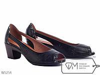 Босоножки женские на низком каблуке, р 37, 38